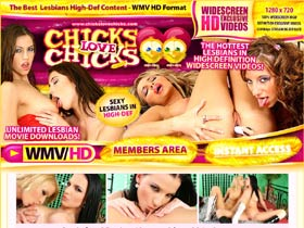Welcome To ChicksLoveChicks.com : These chicks love to play with each other in High Definition!