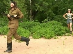 Army girl carries out lesbian commands lesbian xxx